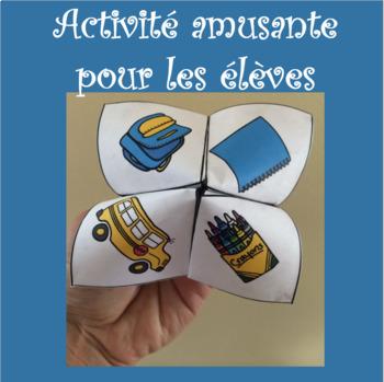 Cocottes en papier ENSEMBLE - French Cootie Catchers