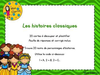 Code ABC - Histoires classiques