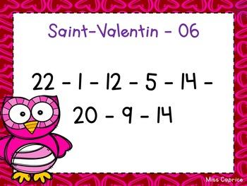 Code ABC - Saint-Valentin