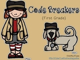 Code Breakers {First Grade}