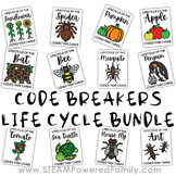 Code Breakers Life Cycle Bundle - 12 Different Plants, Ani