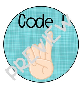 Code Cards for classroom chit-chat!
