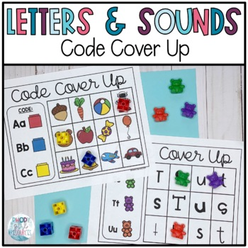 Code Cover Up-Alphabet Edition
