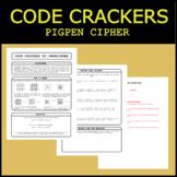 Code Crackers #2 - Pigpen Cipher