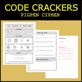Code Crackers #2 - Pigpen Cipher