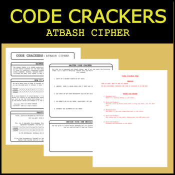 Code Crackers #6 - Atbash Cipher