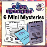 Code Crackers - 6 Mini Mysteries - Breakout Sleuth Activity