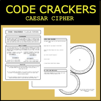 Code Crackers #1 - Caesar Cipher