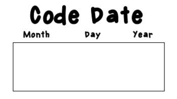Code Date Calendar Poster