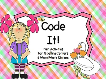 Code It!  A Spelling Activity