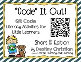 """Code"" It Out! QR Code Literacy Activities for Little Learners"