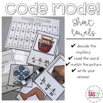 Code Mode!  Short Vowels