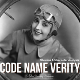 Code Name Verity Allusions & Character Analysis Activities- Common Core Aligned