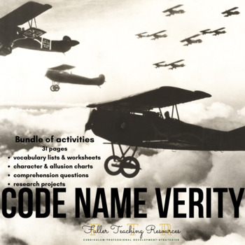 Code Name Verity Complete Resource Set