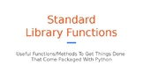 Python Code 08: Library Functions