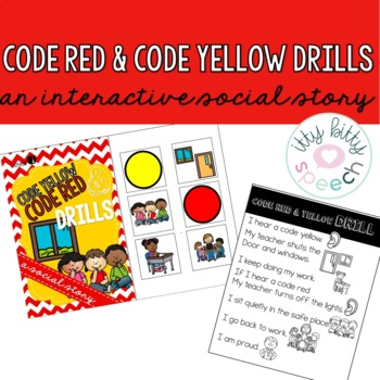Code Red & Yellow  - Interactive Social Story FREE SAMPLE