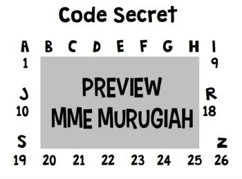 Code Secret Alpha-Numérique (FR)