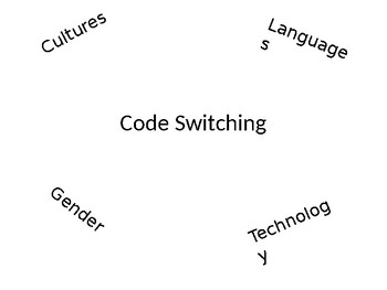 Code Switching/A TRTW Lesson