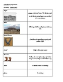 Code Talker Chapters 1-2 Vocabulary Flash Cards with Pictures