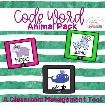 Code Word Animal Pack