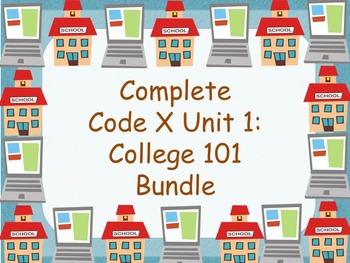 Code X Unit 1 Complete Unit Bundle College 101