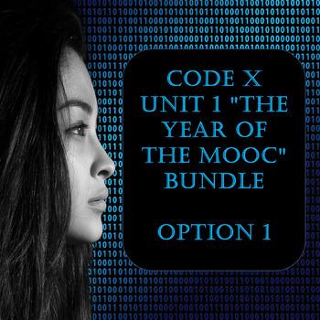 "Code X Unit 1 ""The Year of the MOOC"" Bundle Option 1"