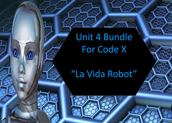 Code X Unit 4 Bundle; Intro, Vocab, First, and Second Read