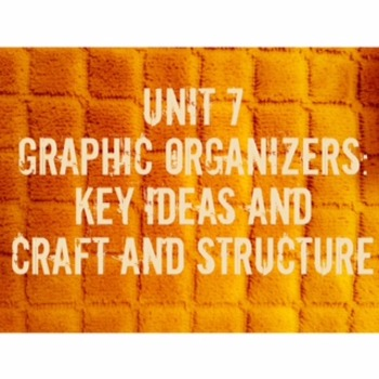Code X Unit 7 Key Ideas and Details and Craft and Structur