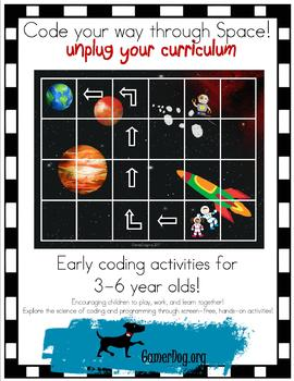 Code Your Way through Space, Unplug Your Curriculum!