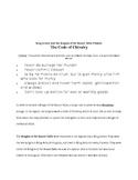 Code of Chivalry Activity