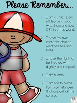 Code of Conduct Posters for Students, Teachers, and Parents