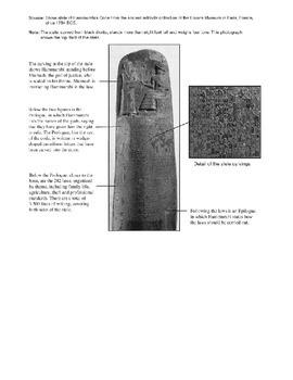 Day 005_Code of Hammurabi - Lesson Handout