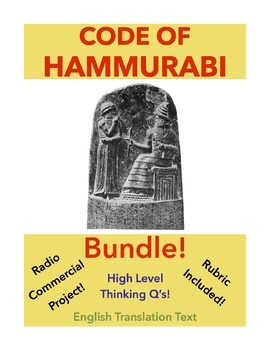 Code of Hammurabi Bundle