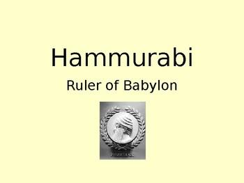 Code of Hammurabi Power Point