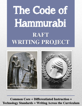 Code of Hammurabi RAFT Writing Project