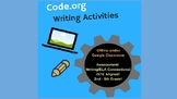 Code.org - Writing Exercises (STEM for 2nd - 5th grade)