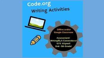 Code.org - Writing Exercises (STEM for 2nd - 5th grade)