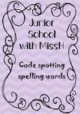 Code spotting spelling (Write to Read)