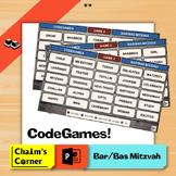 CodeGames - Bar/Bas Mitzvah!