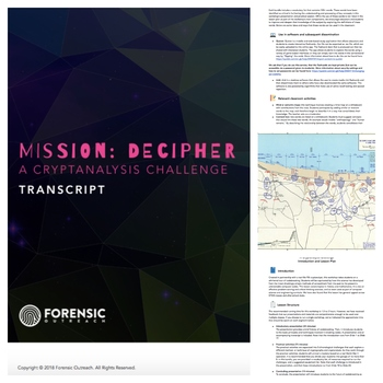 Codebreaking + Mission Decipher: Lesson Plan, Presentation + Activities!