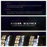 Codebreaking + Mission Decipher: Lesson Plan, Presentation