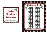 Coded Christmas Sentences 01