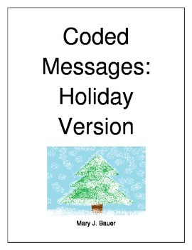 Coded Messages Holiday Version