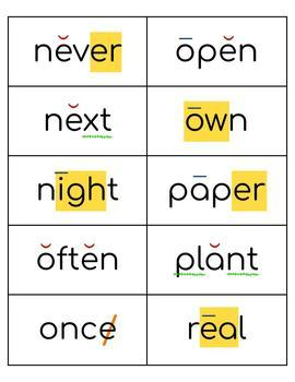 Coded Sight Word Cards (set #3, Fry words 201-300)