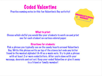 Coded Valentine