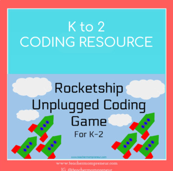 Coders' Playspace Rocketship (Unplugged) Coding Game
