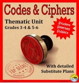 Codes & Ciphers Thematic Unit