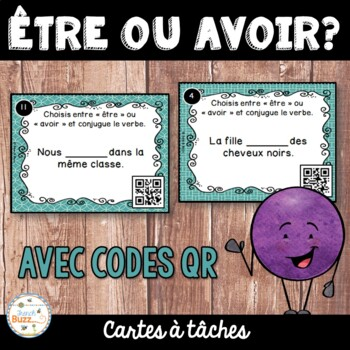 Codes QR - Être ou avoir ? - Cartes à tâches - French Verb