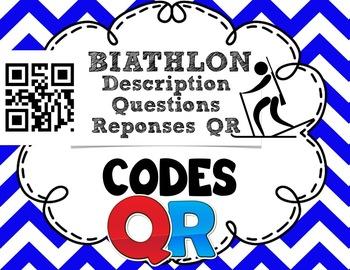 Codes QR - Les sports olympiques/Biathlon- FRENCH