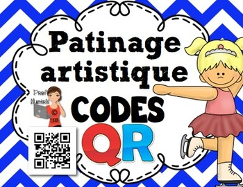 Codes QR - Les sports olympiques/Patinage artistique- FRENCH